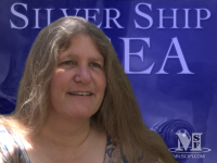 Author Brenda Cooper, The Silver Ship and the Sea